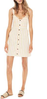 Faithfull The Brand Le Petite Stripe Linen Dress