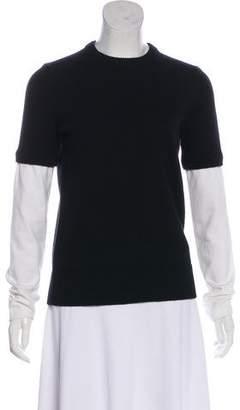 Michael Kors Rib Knit Cashmere Sweater