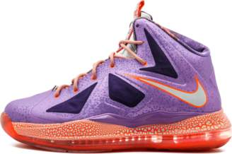 Nike Lebron 10 (GS) 'All Star Game' - Laser Purple/Strata Grey