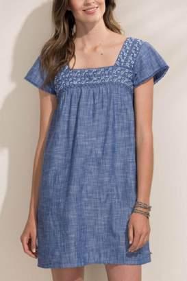 Hatley Chambray Peasant Dress