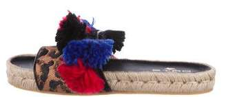 Etro Tassel-Embellished Slide Sandals