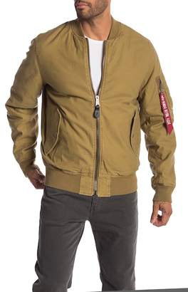 Alpha Industries Mock Neck Reversible Jacket