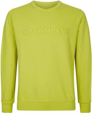 C.P. Company Embroidered Logo Sweatshirt