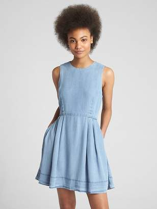 Gap Fit and Flare Dress in TENCEL