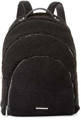 KENDALL + KYLIE Kendall+Kylie X-Large Sloane Shearling Backpack