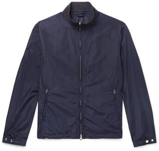 Dunhill Nylon Jacket - Men - Navy