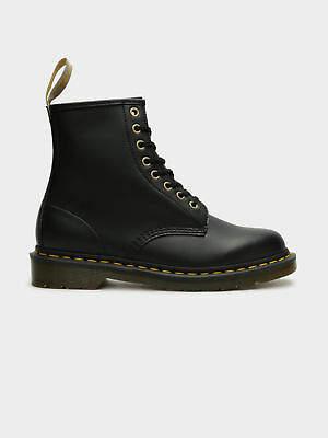 Dr. Martens New Unisex 1460 Vegan Boots In Black Noir