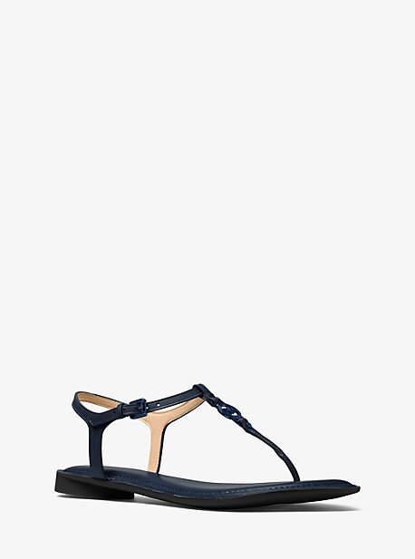 Michael Kors Bethany Leather Thong