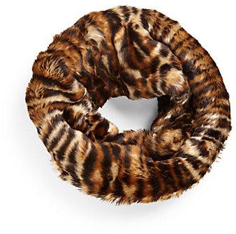 Ralph Lauren Girl's Ocelot Faux Fur Snood
