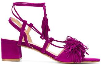 Rebecca Minkoff tassel detail sandals