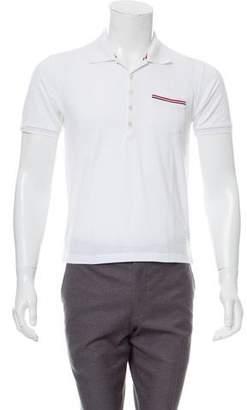 Thom Browne Pique Pocket Polo Shirt