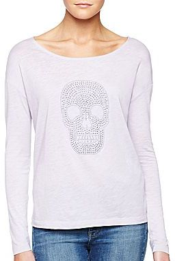 Mng By Mango® Skull Embellished Knit Top