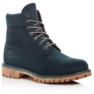 Timberland Men's Premiere Waterproof Nubuck Leather Hiking Boots