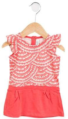 Blune Girls' Knit Metallic-Accented Tunic w/ Tags