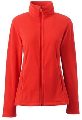 Lands' End Orange Fleece 100 Jacket