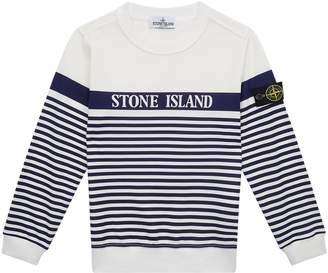 Stone Island Junior Stripe Print Sweater