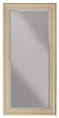 Martin Svensson Home Elegant Antique White Full Length Leaner Mirror