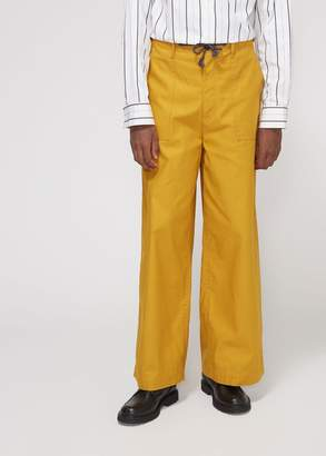 Marni Compact Twill Drawstring Trouser