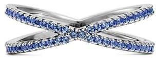 Michael Kors Custom Kors Sterling Silver Pavé Nesting Ring Insert