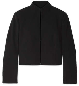 Akris Pandora Wool-blend Jacket - Black