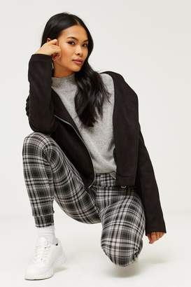 Ardene Heavy Knit Plaid Leggings