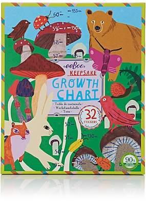 Eeboo MUSHROOM GARDEN GROWTH CHART