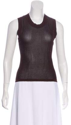 Sonia Rykiel Sleeveless Knit Top
