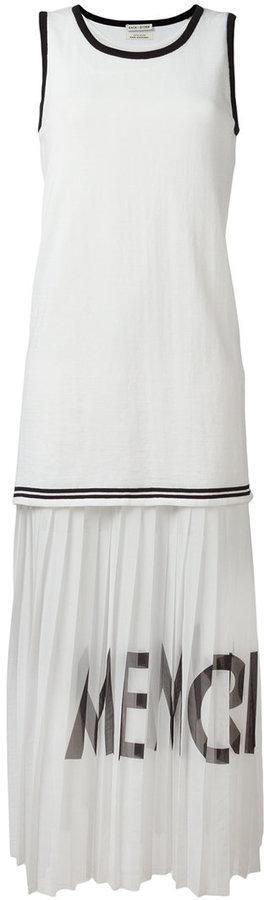Each X Other pleated sleeveless dress
