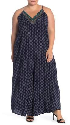 Abound V-Neck Culotte Jumpsuit (Plus Size)