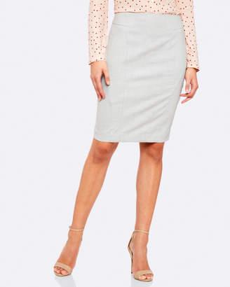 Oxford Monroe Suit Skirt