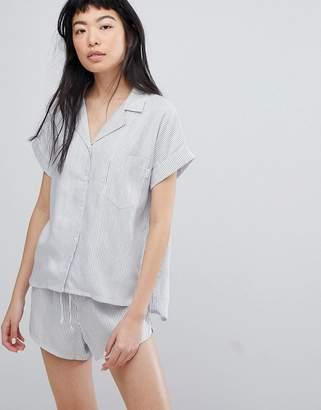 Calvin Klein Tencel Button Down Night Shirt
