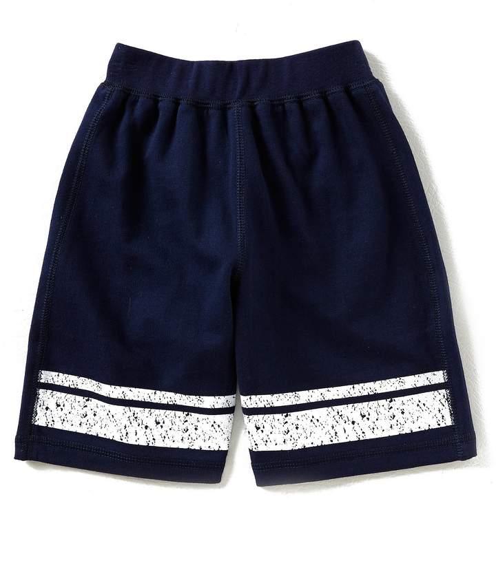 Kapital K Little Boys 2T-7 Neon Stripe Shorts