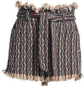 IRO Women's Vanity Striped Tweed Shorts