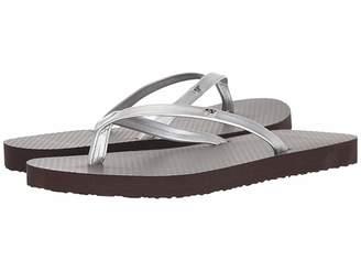 Tory Burch Metallic Leather Flip-Flop