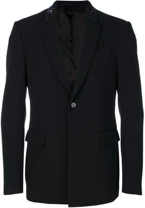 Givenchy beaded collar blazer