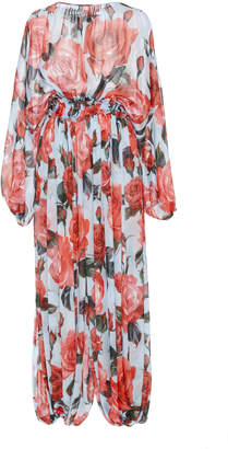 Dolce & Gabbana Rose Printed Jumpsuit