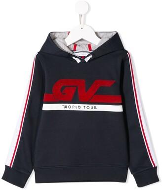 Givenchy Kids logo print hoodie