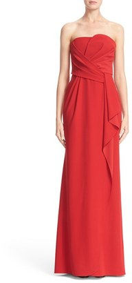 Women's Armani Collezioni Techno Cady Strapless Gown $1,895 thestylecure.com