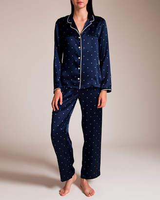 Derek Rose Silk Pajama