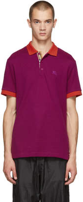 Burberry Pink Hartford Polo