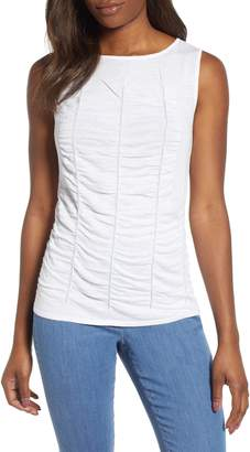Nic+Zoe Ruched Top
