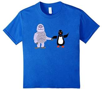 Original Penguin Smiletodaytees Abominable Snowman and Penguin T-shirt