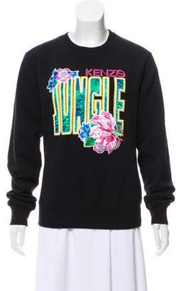 Kenzo Jungle Crew Neck Sweatshirt