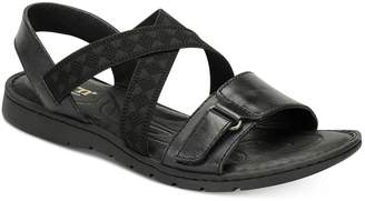 Børn Womens Britton Leather Open Toe Casual Slide Sandals Size 8.0