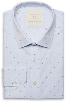 Nordstrom Strong Suit by Ilaria Urbinati Edmond Slim Fit Medallion Dress Shirt Exclusive)