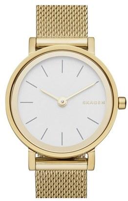Women's Skagen 'Hald' Mesh Strap Watch, 26Mm $165 thestylecure.com