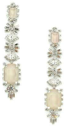 Elizabeth Cole Phee Crystal Drop Earrings