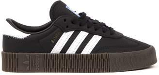 adidas Sambarose Black Leather Sneakers