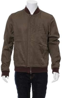 Robert Geller Casual Bomber Jacket