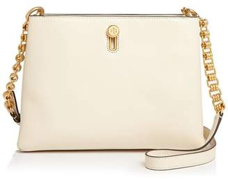 Tory Burch Lily Chain Leather Crossbody